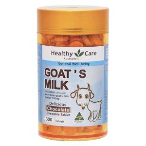 Healthy Care 澳洲製造 羊奶片咀嚼片