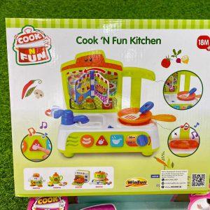 WinFun益智星光廚房玩具